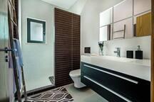Shared groundfloor toilet