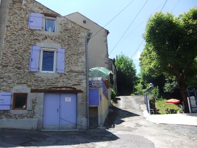Maison avec jardin détente aux porte du Sidobre - Vabre - Dom