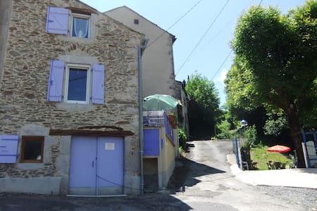 Maison avec jardin détente aux porte du Sidobre - Vabre - Huis