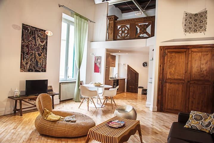 Gorgeous loft in historical center
