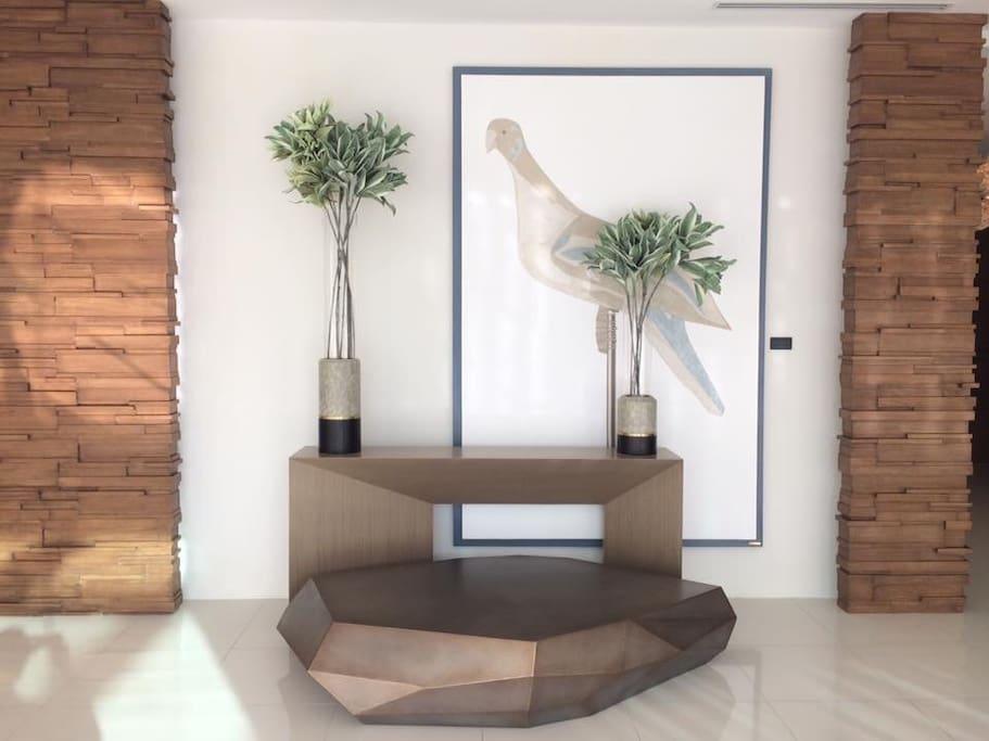 Lobby Art Display