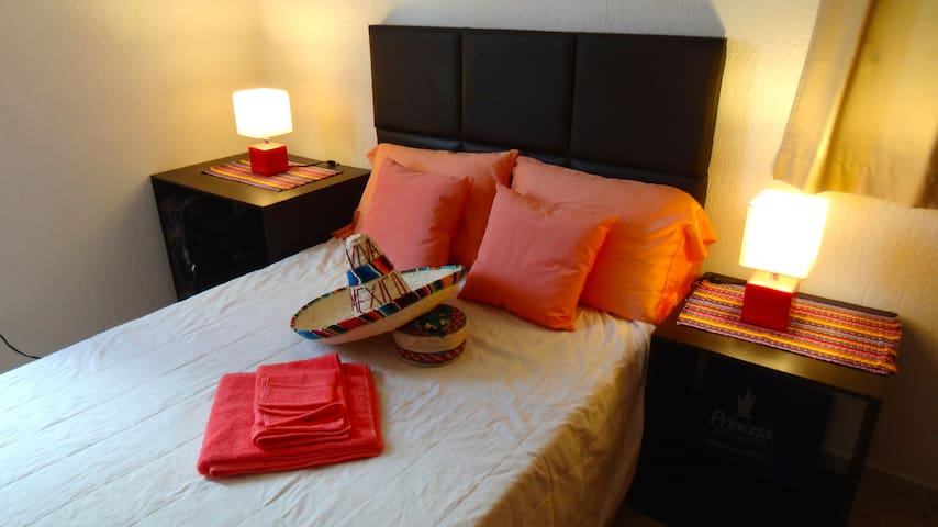 Cozy room in centric place of Cancun - Cancún - Apartemen