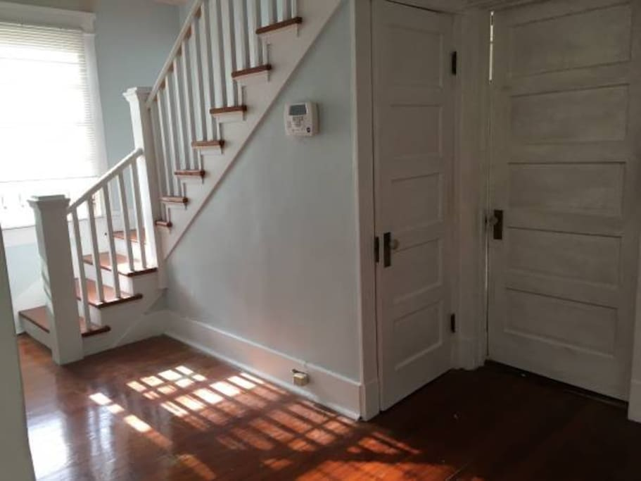 Open foyer, leading upstairs