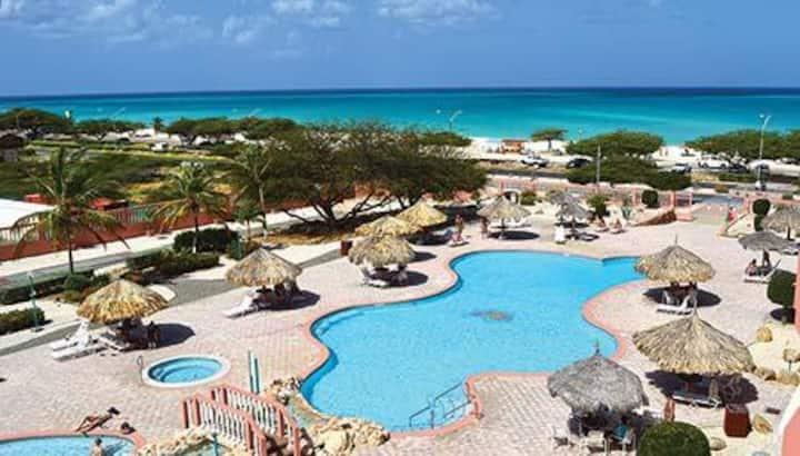 2 BDRM Suite: Paradise Beach Villas @ Eagle Beach