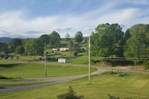 View from the front porch.  1 of 3