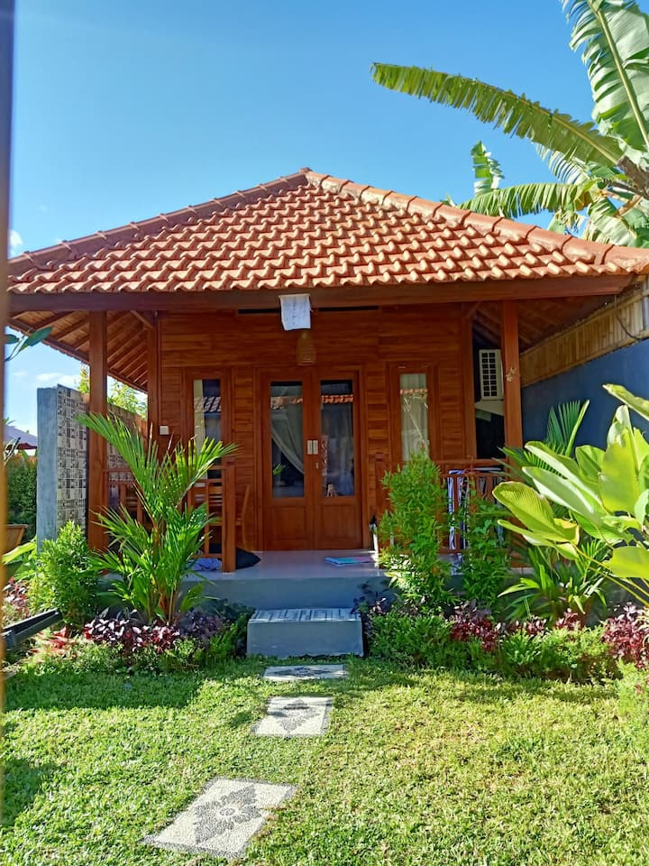 Bungalow Holly,20%off monthly/New and Clean/Canggu