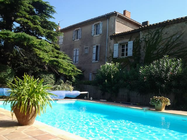 LeRamonetage:2bed apart+shared pool - Raissac-d'Aude - Flat