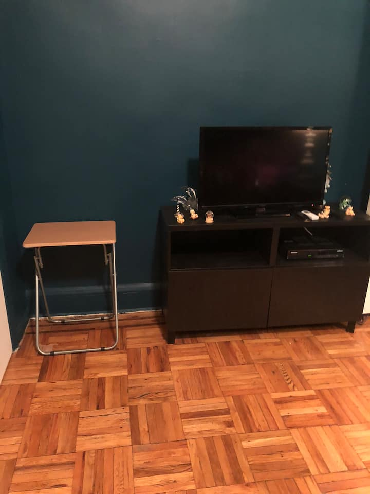 Huge room available in peaceful apt