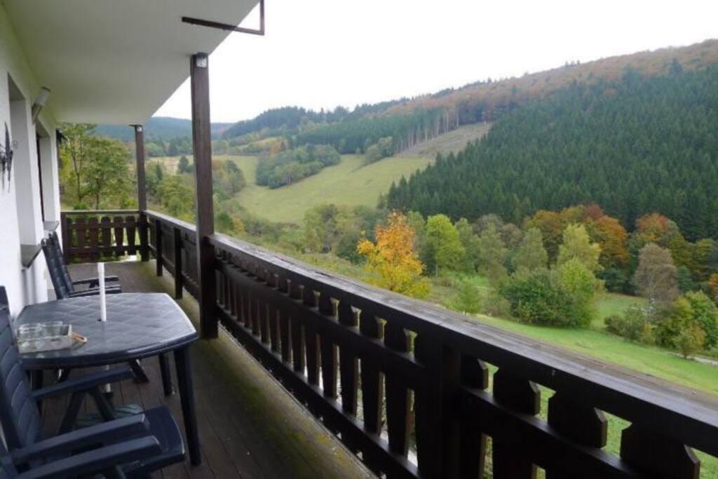 11 Meter breed balkon op het zuiden