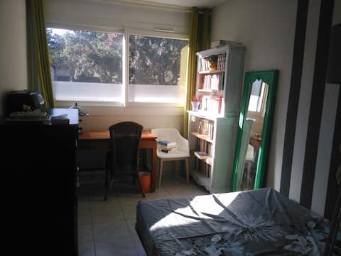 Chambre chez l'habitant a Marseille.