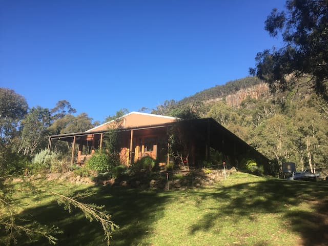Farmhouse in the Condamine Gorge