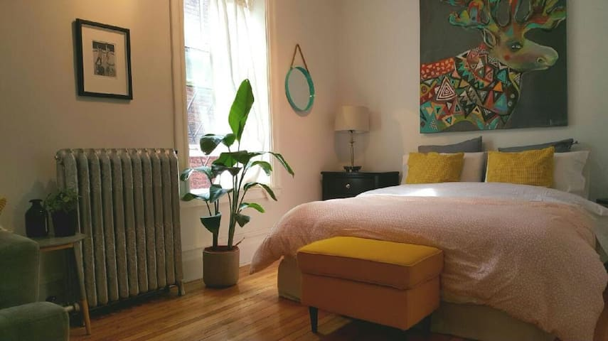 Cozy and spacious apartment downtown - Montréal - Appartement