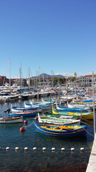 Bel appt sur le port de nice avec parking et wifi - Parking port nice ...