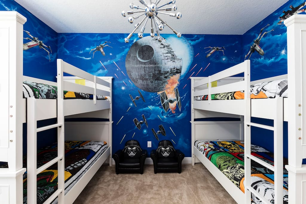Star Wars Theme Room