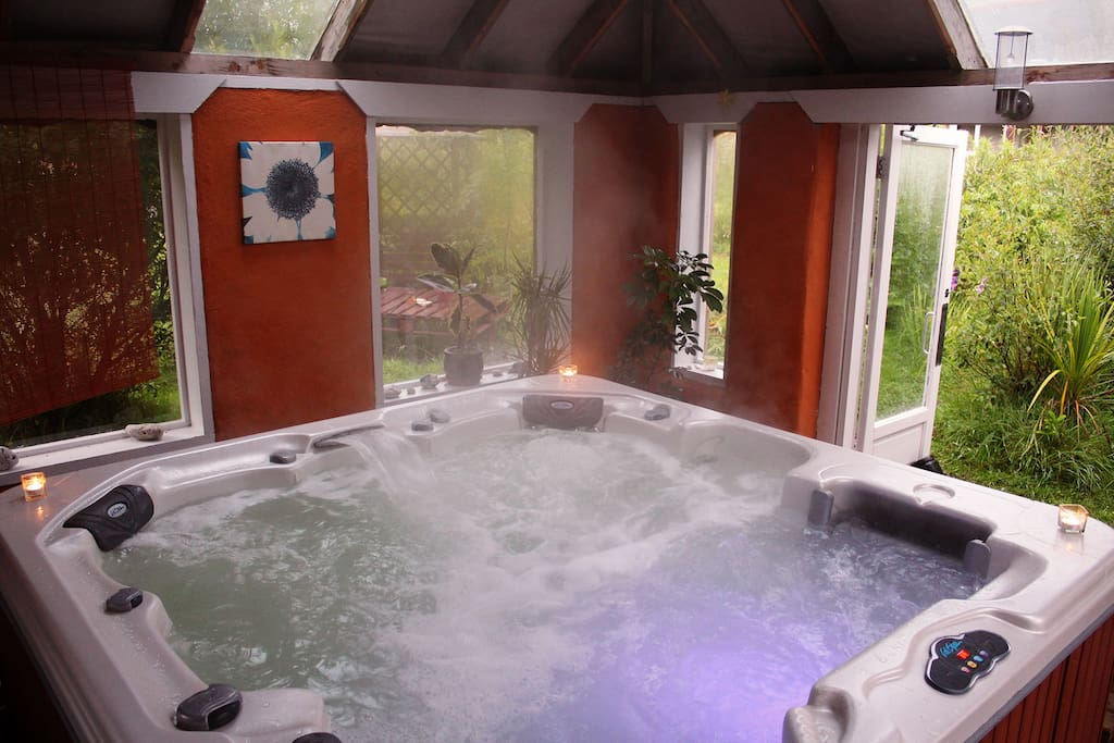 Relax & Unwind Hot Tub Rules apply
