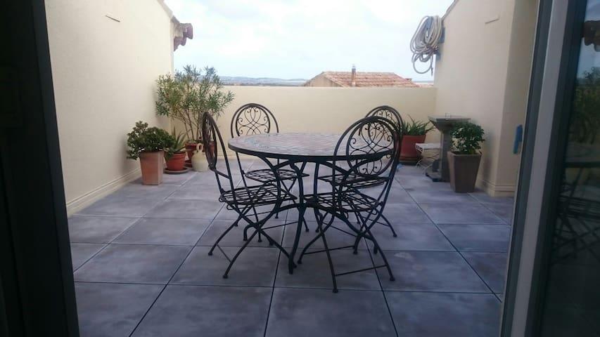 Bel appartement rénové - terrasse, vue imprenable