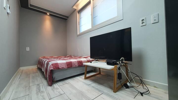 21☆NEW☆(개별주방/욕실)신축얼마되지않은 깔끔한 숙소!  풀옵션가득한룸!!
