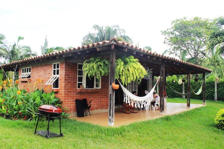 Disfrute verdadero descanso Casa Campestre Yotoco