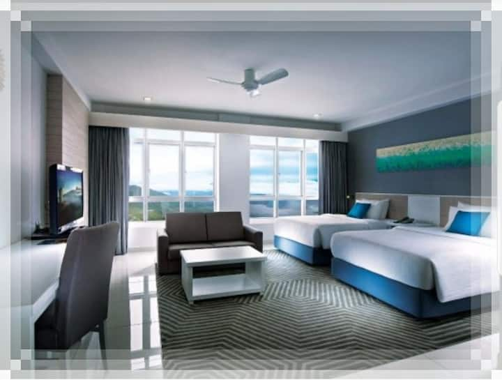 Genting First World Hotel/World club room
