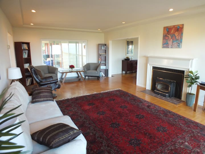 Hillside Retreat with a View  --  3BR Home