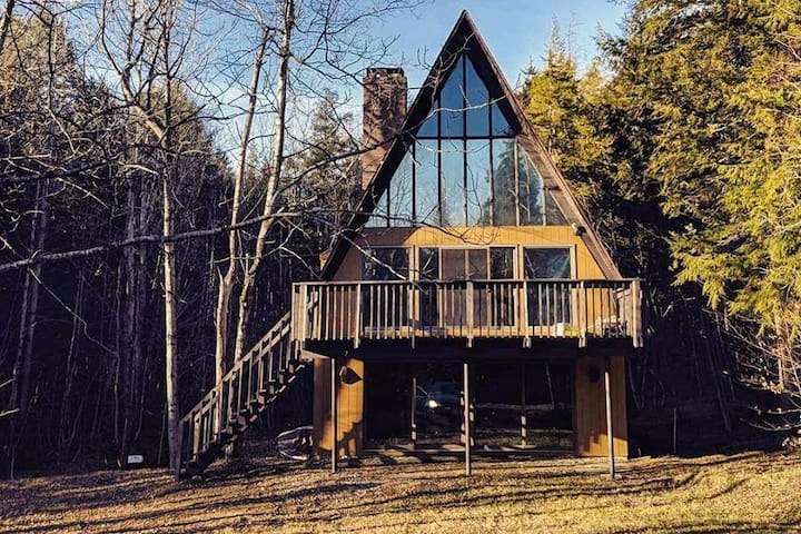 A-Frame of Mind - A warm and cozy retreat