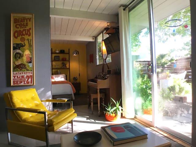 Mid-Century Suburban Suite in Quiet Concord