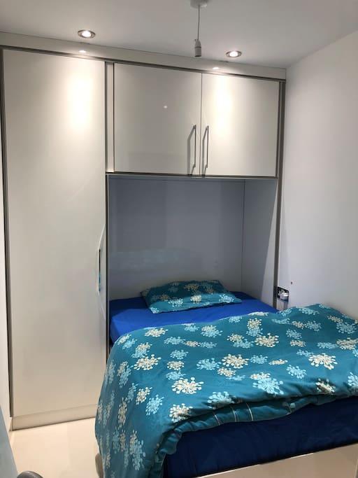 Bedroom with plenty of storage