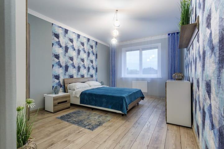 Двухкомнатная квартира в современной высотке