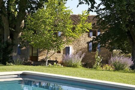 «Mas» style house, 12m per 5m heated pool