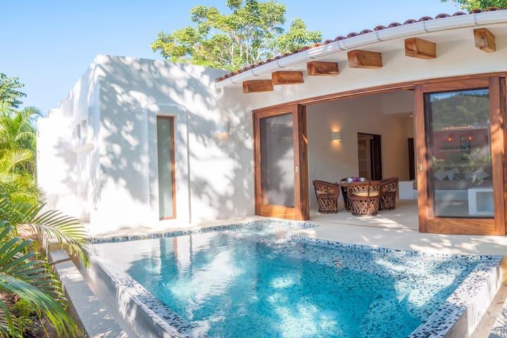 2 bedroom House + Pool in Careyes