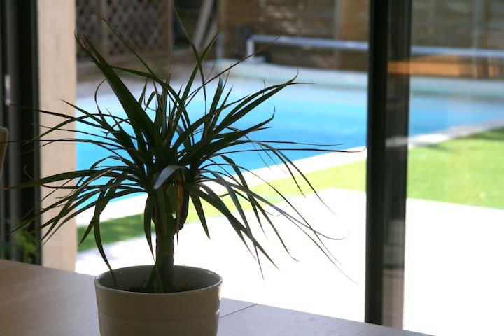 Les Gauras en Lubéron - Villa Neuve Jardin Piscine