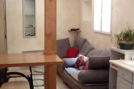 Chambre dans maisonnette en coeur de ville - Elne