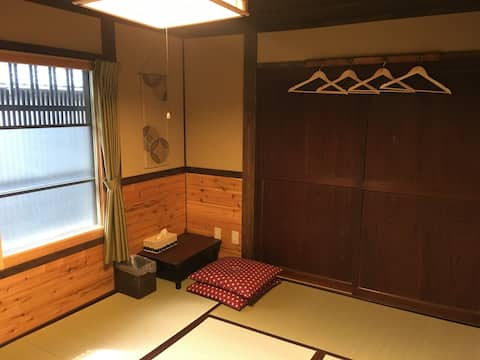 Yanagiya at castle town:private room C, 6 tatami