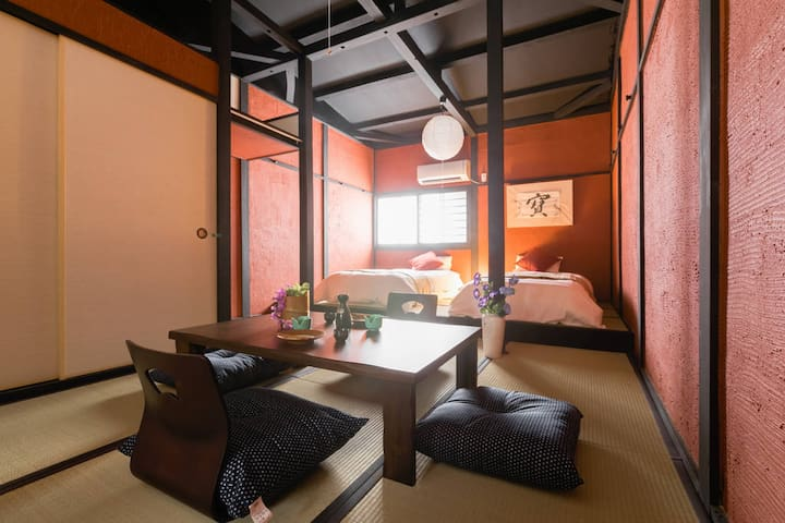 Traditional apt unique area. Near to Sub&Umeda#NK2