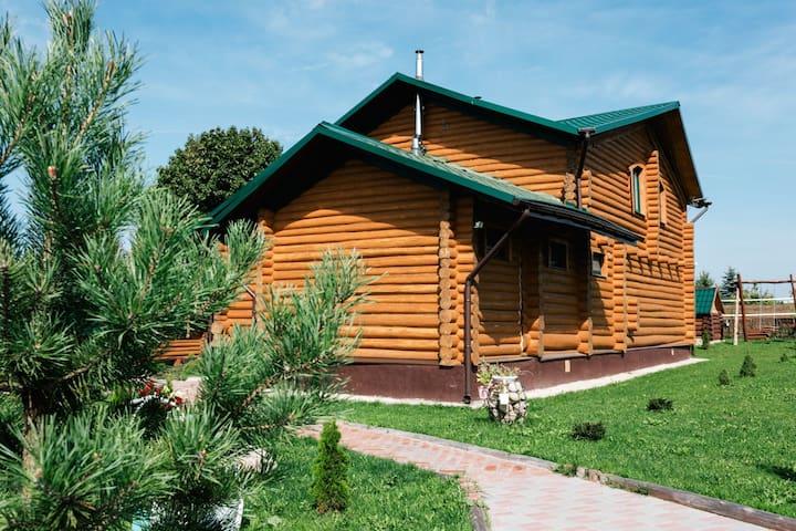 Дом для отдыха рядом с парком Якутские горы