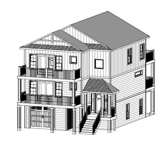 #CB104: Brand new soundfront home with private pool, hot tub, elevator and beach access