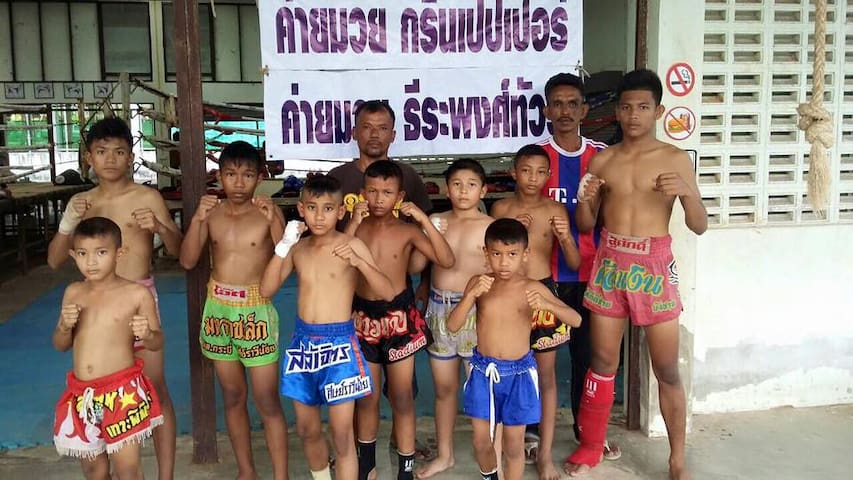 Learning Real Thai boxing - TH - Appartement