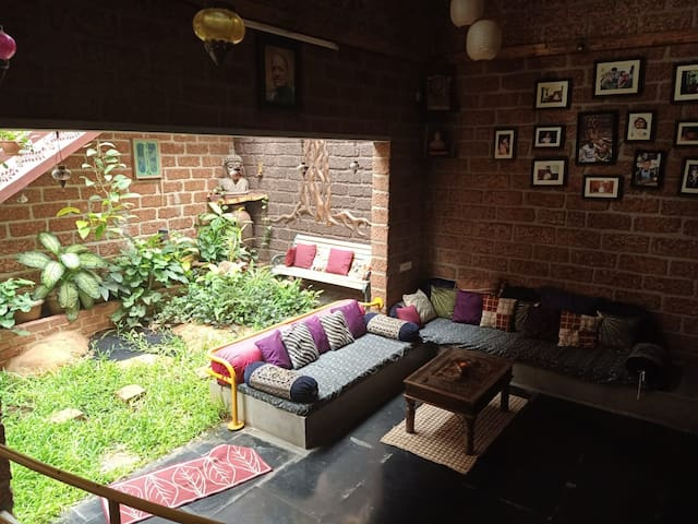 Private Room in Eco Friendly, Unique Ethnic House