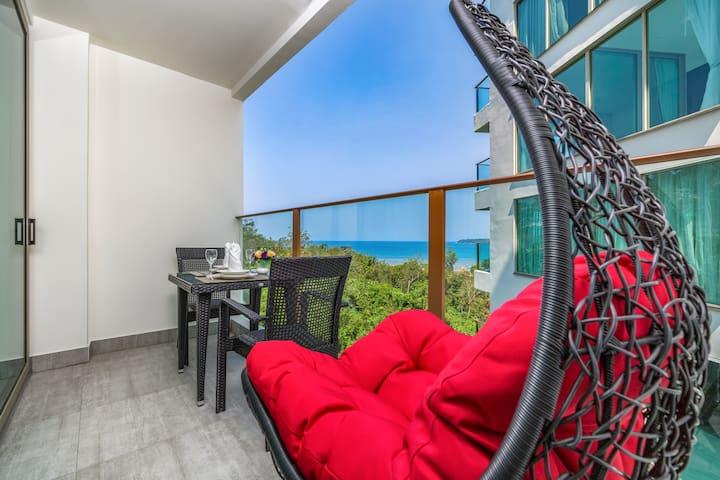 Amazing Seaview Studio @Kamala - 300m
