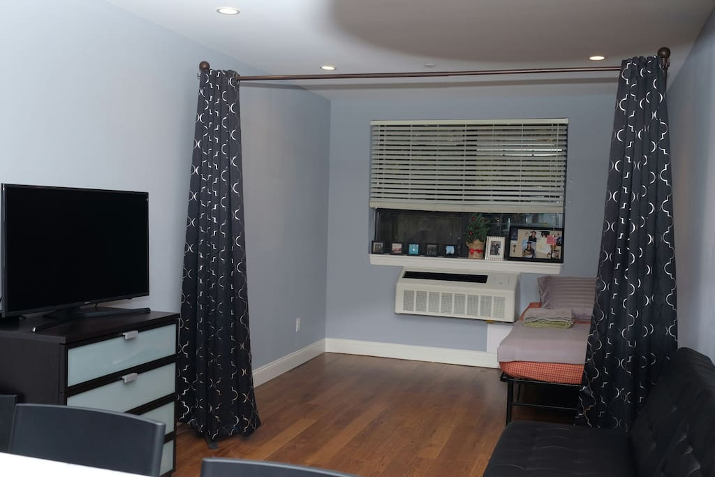 Semi Private Room in Living Room | Blackout Privacy Curtains
