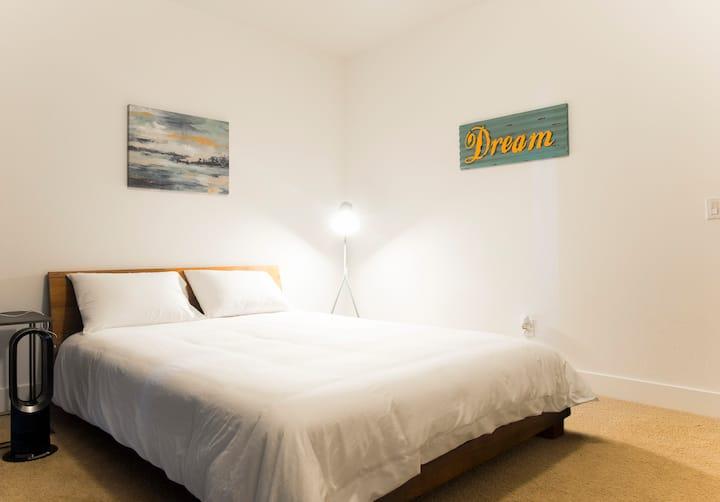 Pvt room with pvt bath, pvt living area N San Jose
