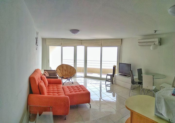 Cha-am private beach Sea view panorama. 2 bedroom.
