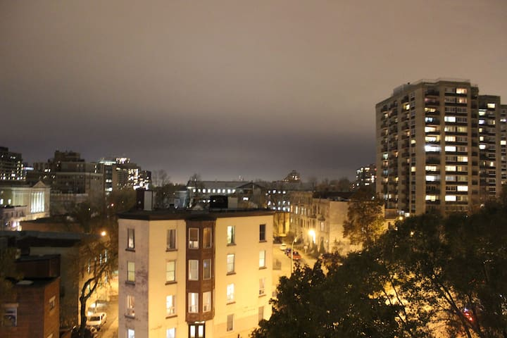 Top Floor With Terrace View of Downtown Montreal!!