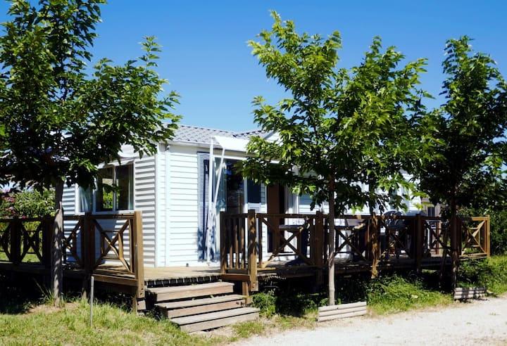 Mobile home indépendant  au cœur du Gers