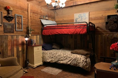 Authentic Barn BnB stall #2 (Bed in Barn)