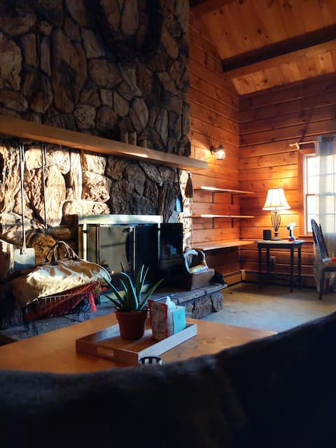 Rustic Cabin with Indoor Fireplace (1.5 hrs from NYC)