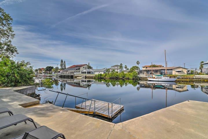 NEW! Waterfront Hernando Beach Home w/Dock,Hot Tub