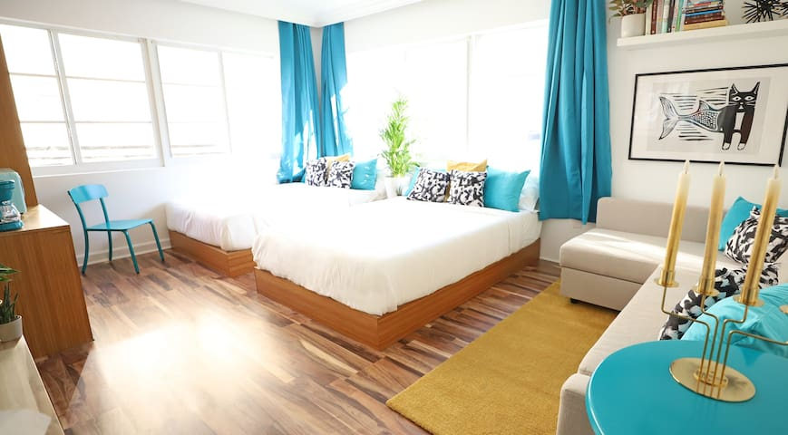 South Beach Hideaway | 1min to Ocean | FREE Parking