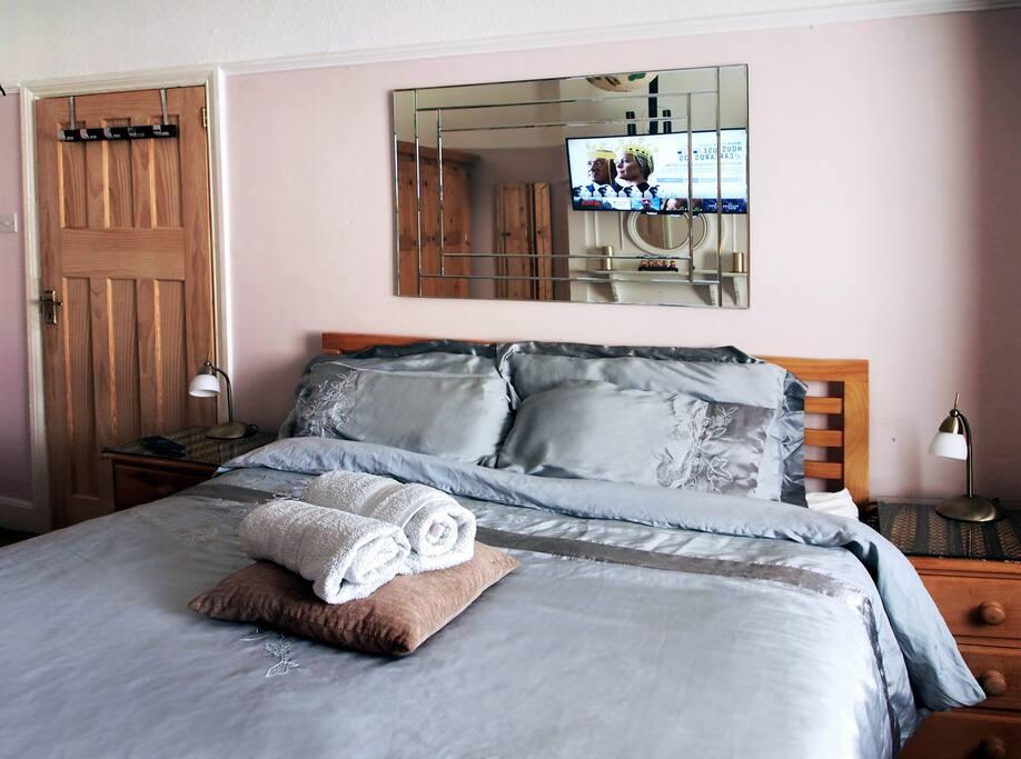 Elegant kingsize front bedoom streatham common - Posto letto londra ...