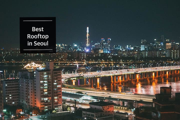 [RiverView] MOONRIVER 2  - BEST ROOFTOP in Seoul